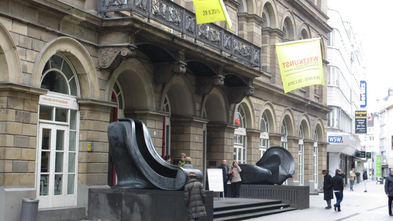 Von der Heydt-Museum Eingang