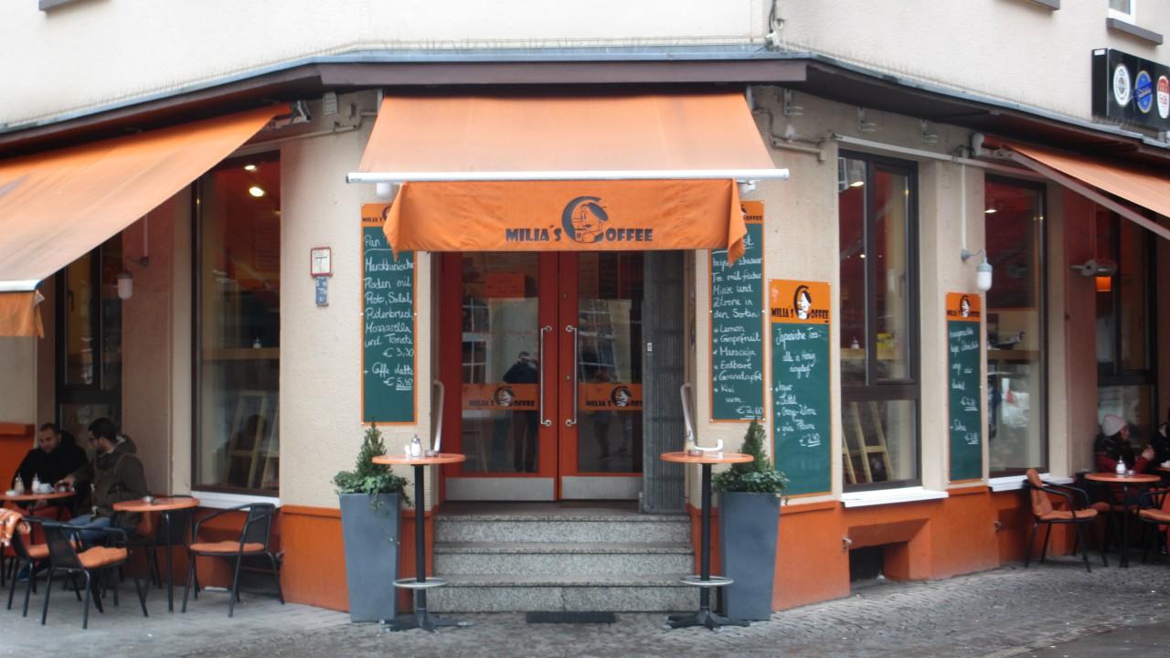 Milia´s Coffee Eingang