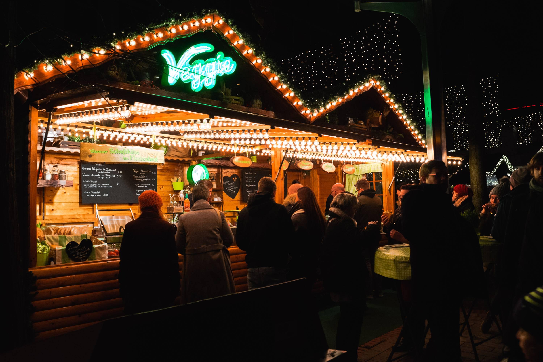 Weihnachtsmarkt Bude