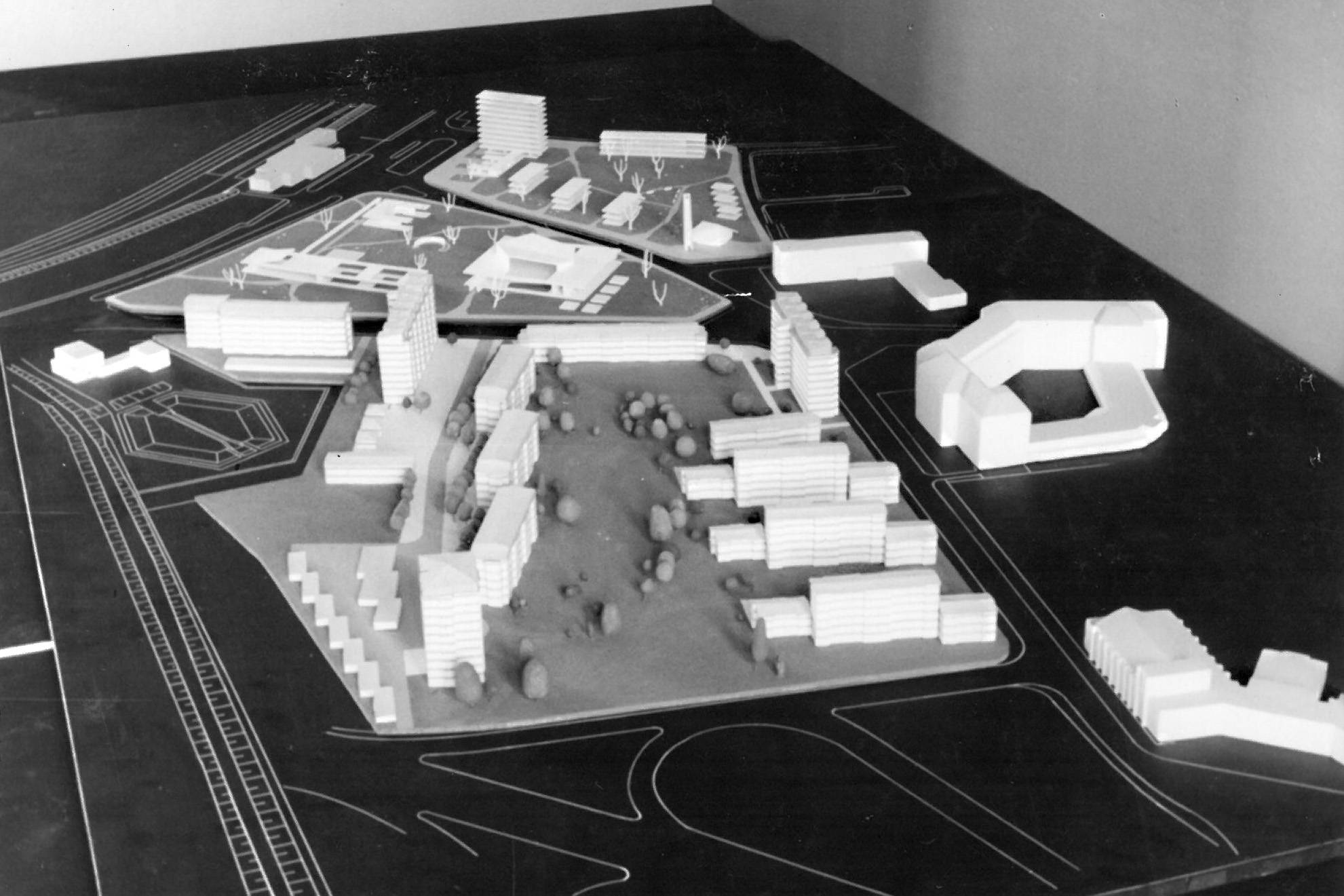 Zinkhüttensiedlung Hamborn Modell