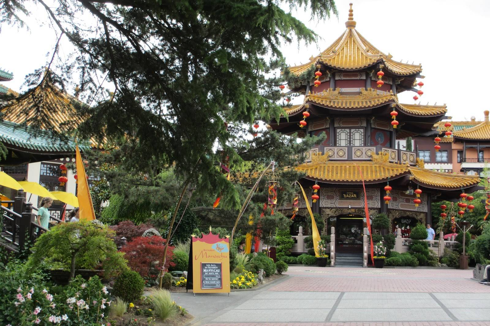 Phantasialand China Town