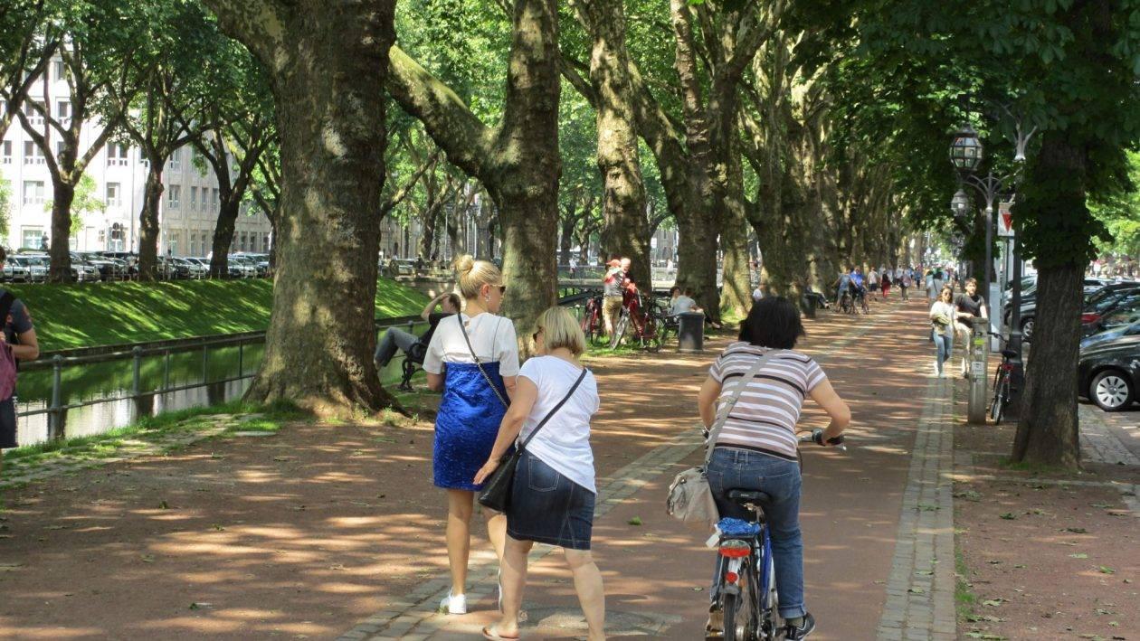 Düsseldorf Fahrradfahren
